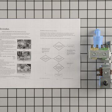 Gibson Refrigerator Part # 242252702 - Water Inlet Valve - Genuine OEM Part