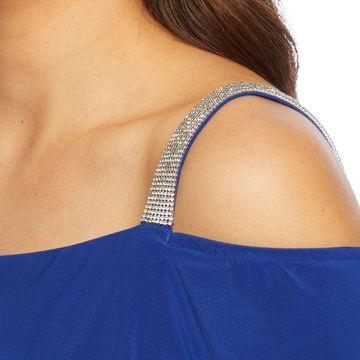 MSK Cold Shoulder Embellished Sheath Dress