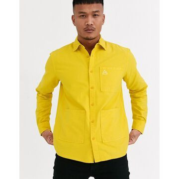 Only & Sons overshirt in yellow