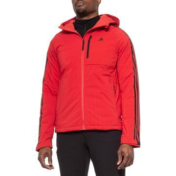 adidas outdoor 3-Stripe Down Hooded Jacket - Insulated (For Men)