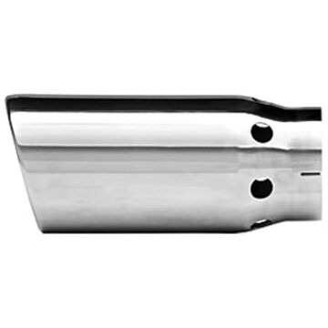 D2236483 Dynomax Exhaust Tip, stainless steel polished