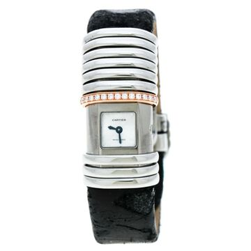 Cartier Declaration Grey Leather Watches
