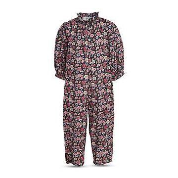Sea Girls' Floral Print Jumpsuit - Little Kid