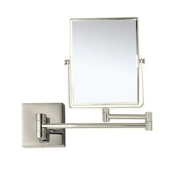 Nameeks Glimmer Double Face 3x Wall-Mounted Makeup Mirror Bedding