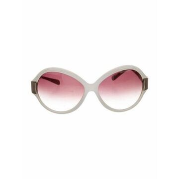 Harlot Round Sunglasses gold