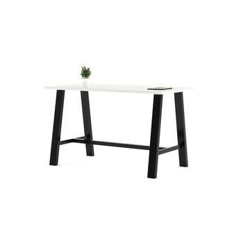 KFI Midtown 41in H Conference Table with 42in D High Pressure Laminate Top (108in w - designer white)