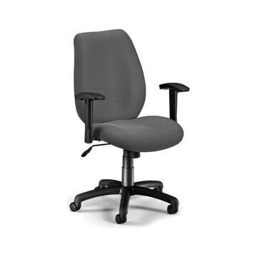 OFM Ergonomic Manager's Chair with Adjustable Arms in Graphite