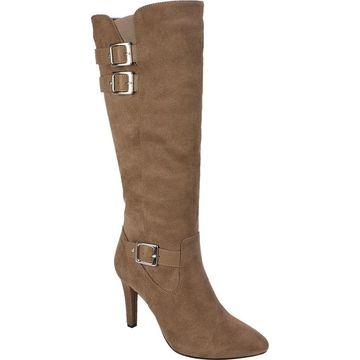 Rialto Womens Cahoon Fabric Closed Toe Mid-Calf Fashion Boots