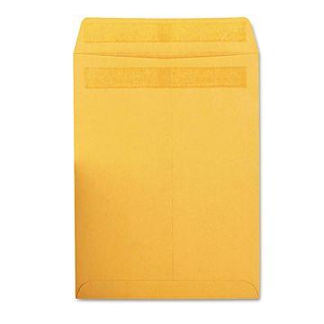 Quality Park Redi Seal Catalog Envelope 9 x 12 Brown Kraft 100/Box 43567