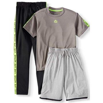 RBX Tee, Tricot Pant and Fleece Short 3 Piece Set (Little Boys & Big Boys)