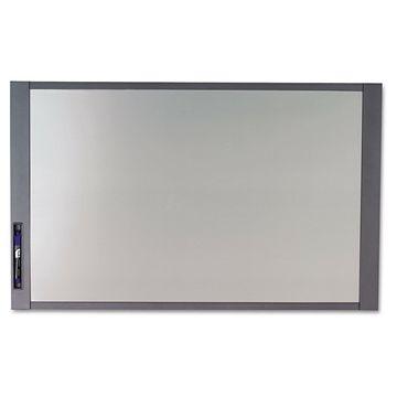 Quartet InView Custom Whiteboard 36 x 24 Graphite Frame 72982