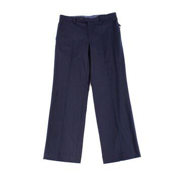Alfani Mens 32X30 Dress Flat Front Stretch Pants