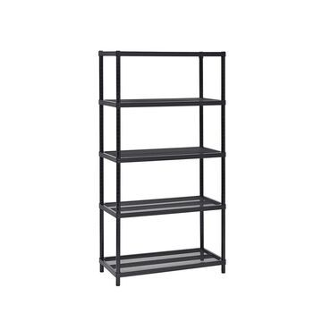 5-Tier Mesh Shelving Unit