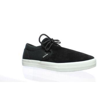 Supra Mens Cuba Black Skateboarding Shoes Size 11