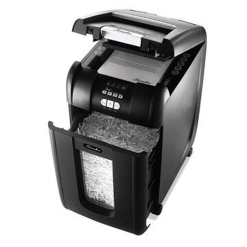 SWINGLINE Stack-and-Shred 300XL Auto Feed Super Cross-Cut Shredder Value Pack