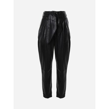 For Love & Lemons Dillon Faux Leather Trousers