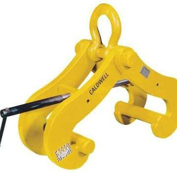 CALDWELL GC-25 Beam Clamp,50,000 lb,Vertical,6 to 24 In