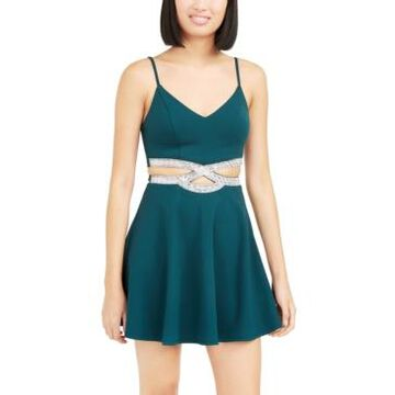 Speechless Juniors' Infinity Cutout Dress
