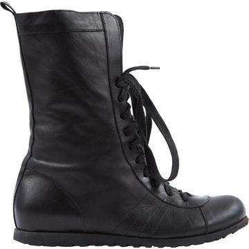 Yohji Yamamoto Black Leather Ankle boots