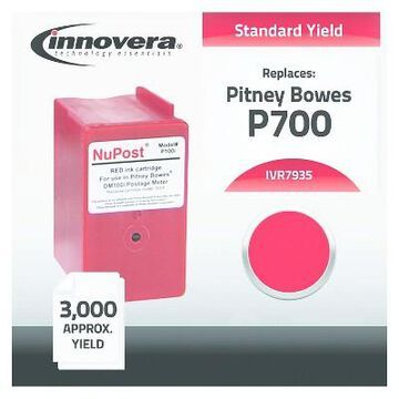 Innovera Compatible 793-5 Postage Single Meter Ink Cartridge - Red (IVR7935)