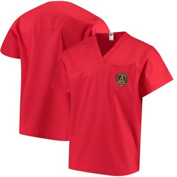 Concepts Sport Red Atlanta United FC Scrub Top