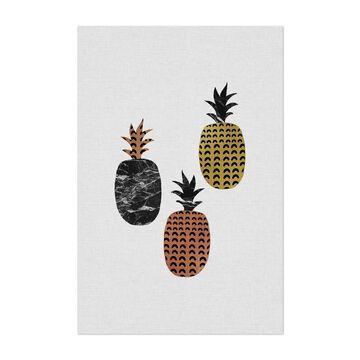 Noir Gallery Kitchen Pineapple Fruit Food Unframed Art Print/Poster