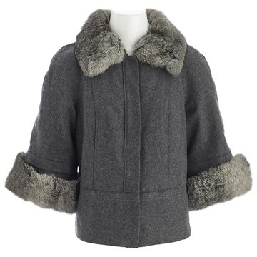 Philosophy Di Alberta Ferretti Grey Wool Jackets