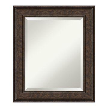 Amanti Art Ridge Framed Bathroom Vanity Mirror