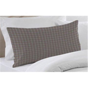 Patch Magic PSW255A Red Lines And Off White Plaid, Fabric Pillow Sham 27 x 21 inch