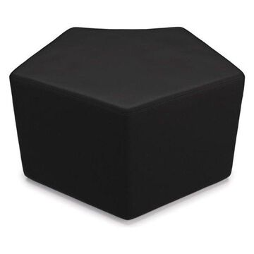 Ofm Quin Series Model 55 Polyurethane Stool, Black
