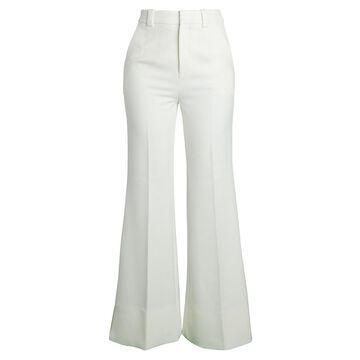 Roland Mouret Dilman Fit-&-Flare Crepe Pants