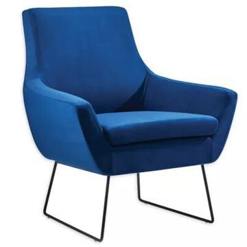 Adesso Kendrick Accent Chair In Blue