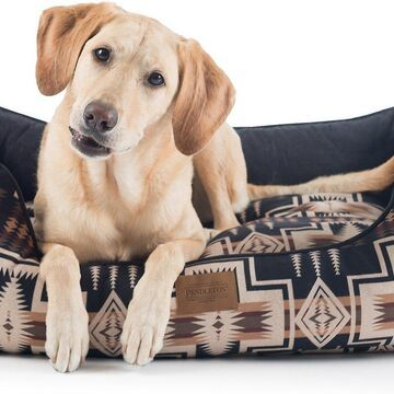 Pendleton Harding Kuddler Bolster Dog Bed w/Removable Cover