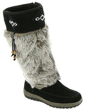 Wanderlust Womens Nika Suede Closed Toe Knee High Cold Weather
