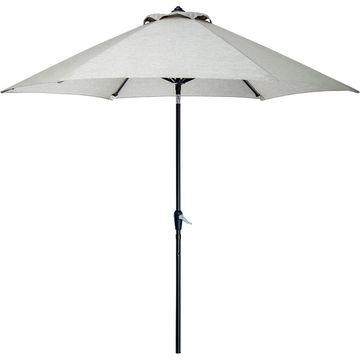 Hanover Outdoor Lavalette Dining Collection Grey Table Umbrella