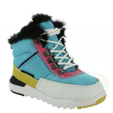 BEARPAW Mokelumne Girls' Toddler-Youth Blue Boot 2 Youth M