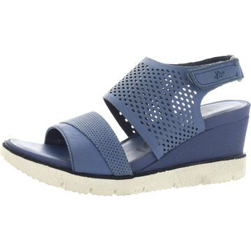 OTBT Womens Milky Way Slingback Heels Leather Open Toe