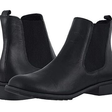 Walking Cradles Kendall (Black Rustic Leather) Women's Boots