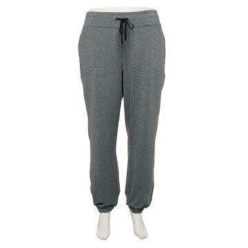 Plus Size Tek Gear Weekend Pants, Women's, Size: 4XL, Dark Grey