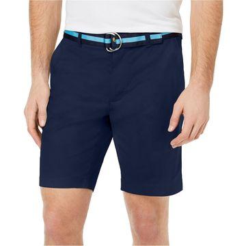 Club Room Mens Stretch Casual Chino Shorts
