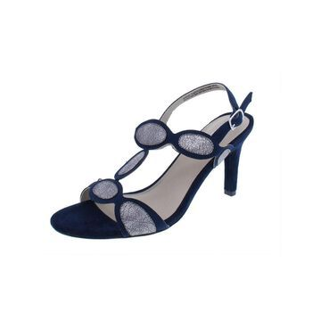 Rialto Womens Rheta Dress Sandals Faux Suede Heels
