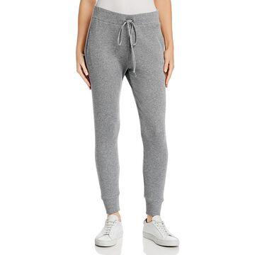 Enza Costa Womens Cashmere Thermal Jogger Pants