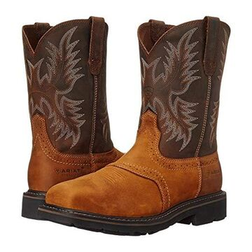 Ariat Sierra Wide Square (Aged Bark) Cowboy Boots