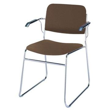 KFI 311 Stacking Chair Sled Base, Multiple Colors