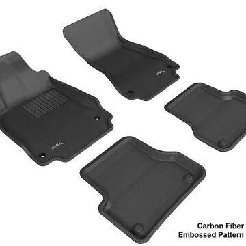 L1AD02201509 AUDI A6/S6 2012-2014 SDN KAGU BLACK R1 R2 Floor Mat