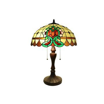 Warehouse Of Tiffany Metal Table Lamp