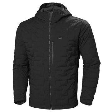 Helly Hansen Men's Lifaloft Hooded Stretch Insulator Jacket - Small - Black