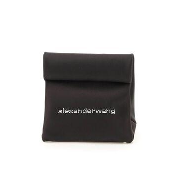 Alexander wang lunch bag satin clutch