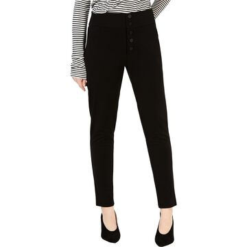 XOXO Womens High-Rise Ankle Skinny Pants