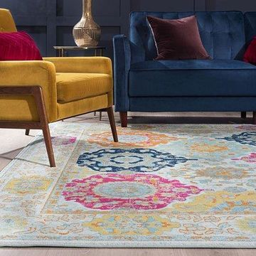 Bliss Rugs Tycho Transitional Indoor Area Rug